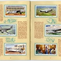 Image of An Album of International Air Liners, pages 16-17
