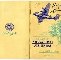 Image of An Album of International Air Liners, cover