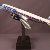 Image of Delta Golden Crown DC-7, N4871C Model Airplane