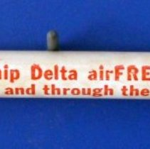 Image of Delta Air Freight Pencil - ca. 1946-1953 or 1956-1959
