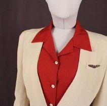 Image of Reproduction Delta Stewardess Uniform Blouse