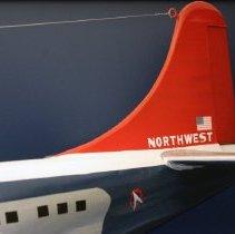 Image of Northwest Orient Boeing 377 Stratocruiser, N74602, Model Airplane