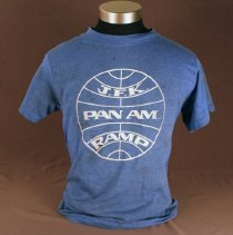Image of Pan Am Ramp Agent Uniform T-Shirt - ca. 1973-1991