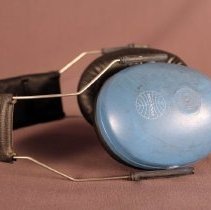 Image of Pan Am Ramp Agent Safety Earmuff - ca. 1973-1991