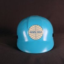 Image of Pan Am Ramp Agent Hard Hat - ca. 1973-1991