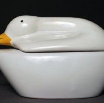 Image of Pan Am First Class Pâté Serving Dish - late 1980s-ca.1991