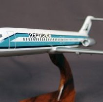 Image of Republic Airlines DC-9 N9357, Model Airplane  -
