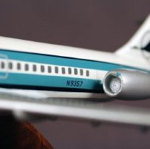 Image of Republic Airlines DC-9 N9357, Model Airplane