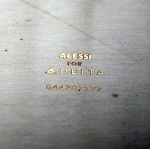 Image of Alessi for Delta Food Service Tray