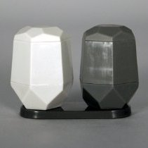 Image of Alessi for Delta Salt and Pepper Shakers