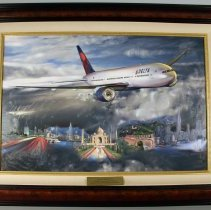 Image of Delta Boeing 777-200LR Painting