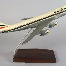 Image of Delta Boeing 747-132, Ship 101, Model Airplane