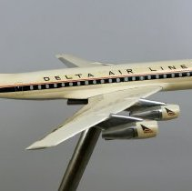 Image of Delta Fanjet Douglas DC-8-51, N807E, Ship 807 Model Airplane - 1960s