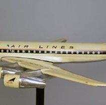 Image of Delta Douglas DC-8-51 Fanjet, N807E, Ship 807 Model Airplane - late 1960s