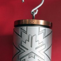 Image of 2002 Olympic Winter Games Lantern - 12/4/2001