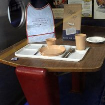 Image of Delta Douglas DC-7B First Class Lounge Table