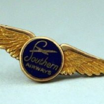 Image of Southern Airways Employee Service Pin - ca. 1949-1967
