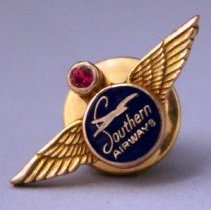 Image of Southern Airways Employee Service Pin -