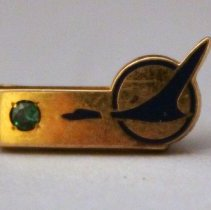 Image of Republic Airlines Employee Service Pin - 1979-1986