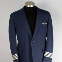 Image of Republic Airlines Captain's Uniform Jacket, Pants, and Insignia