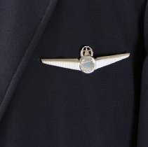 Image of Republic Airlines Captain's Insignia on Jacket