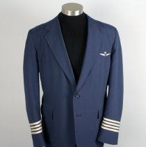 Image of Republic Airlines Pilot Uniform Jacket - 1985