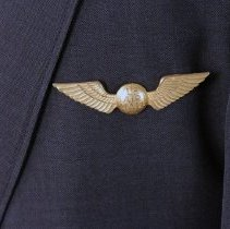 Image of Northwest Airlines Captain's Insignia on Jacket