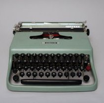 Image of Olivetti Lettera 22 Portable Typewriter - 1950s
