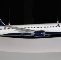 Image of Delta Boeing 737-900ER Model Airplane - ca. 2014