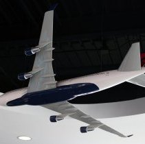 Image of Delta Boeing 747-400, Ship 6313, Model Airplane