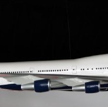 Image of Delta Boeing 747-400, Ship 6313, Model Airplane - ca. 2014