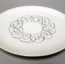 Image of Pan American President Special Dinner Plate - late 1950s