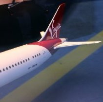 Image of Virgin Atlantic Boeing 787-9 GV, Birthday Girl Model Airplane