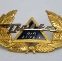 Image of Delta Pilot Hat Badge  - 1956 - 1972