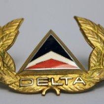 Image of Delta Pilot Cap Badge  - 1972 - 2001