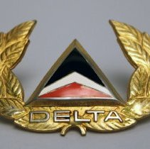 Image of Delta Pilot Cap Badge  - 1972 - 2001