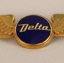 Image of Delta Flight Engineer (Second Officer) Wings  - 1956 - 1972