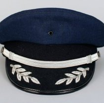 Image of Republic Airlines Pilot Uniform Hat - 1980