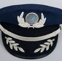 Image of Republic Airlines Pilot Hat and Badge