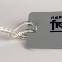 Image of Republic Airlines Frequent Flyer Bag Tag - early-mid 1980s