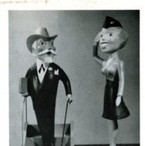 Image of Colonel Delta & Dottie Delta introduction, Delta Digest, Jan. 1951