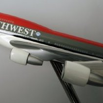 Image of Northwest Boeing 747-400, Model Airplane