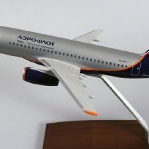 Image of Sukhoi Superjet 100-95B, Aeroflot Model Airplane