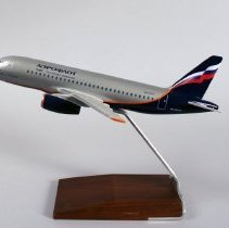 Image of Aeroflot Sukhoi Superjet 100-95B Model Airplane - ca. 2014