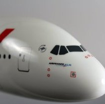 Image of Air France Airbus A380 Model Airplane