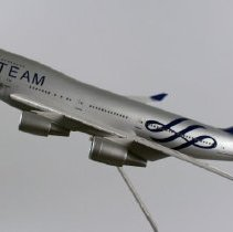 Image of China Airlines SkyTeam Boeing 747-400, B18206 Model Airplane - ca. 2014