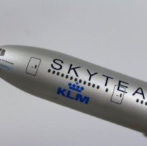 Image of KLM Royal Dutch Airlines Boeing 777 in Skyteam Livery Model Airplane