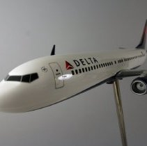 Image of Delta Boeing 737-900ER Model Airplane - ca. 2013-2014