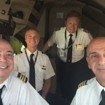 Image of Final Flight of 744 Ship 6301: Flight Crew