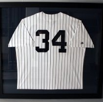 Image of Brian McCann's New York Yankees Jersey - ca. 2014-2016